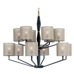 luxury chandelier: top lamp
